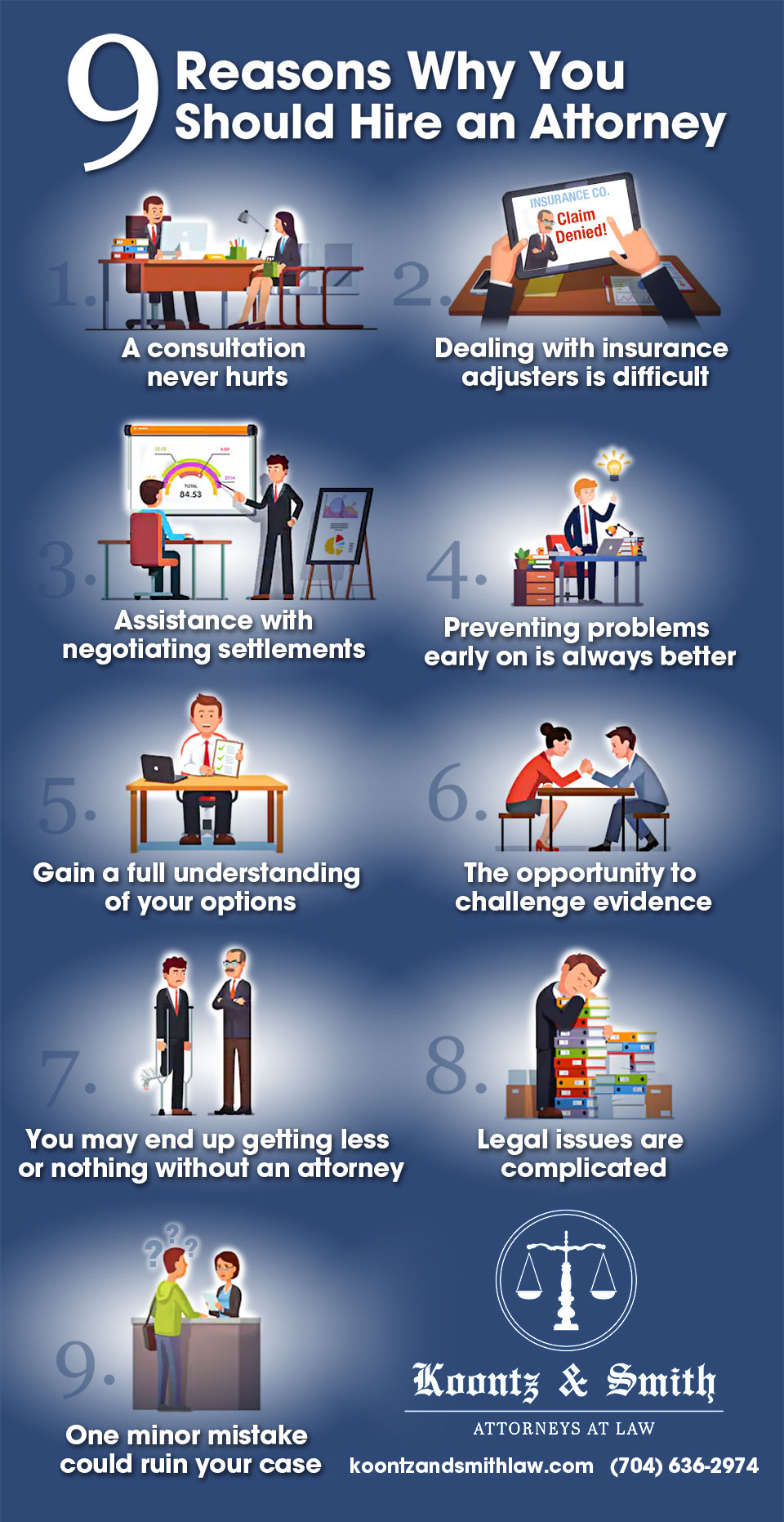 9 Reasons Why You Should Hire an Attorney [infographic]