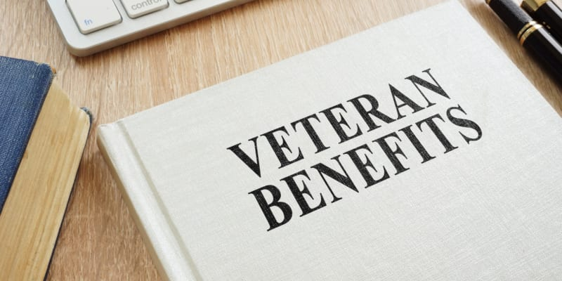 seek out the veterans' benefits that you are entitled to